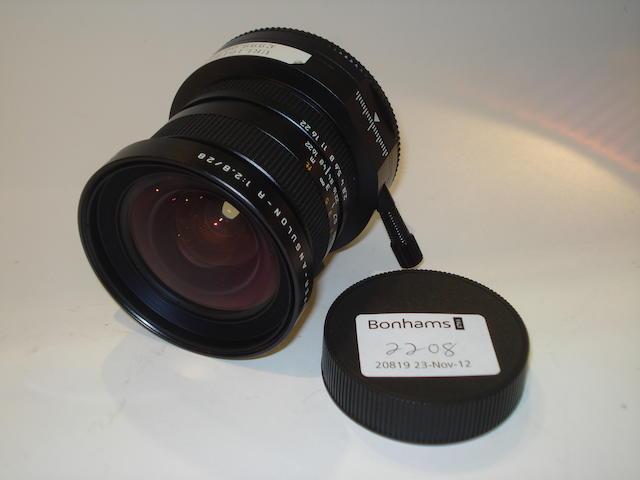 Leica PC Super-Angulum R 28mm f2.8 lens,