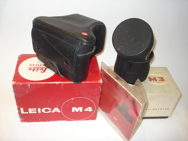Miscellaneous Leica accessories: