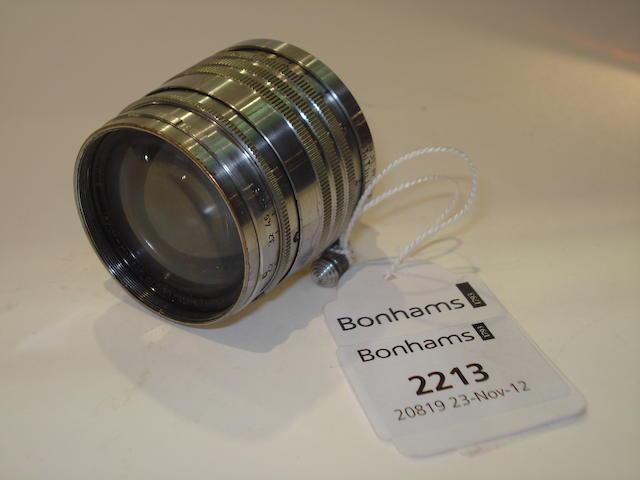 Leica 5cm f1.5 Xenon lens,