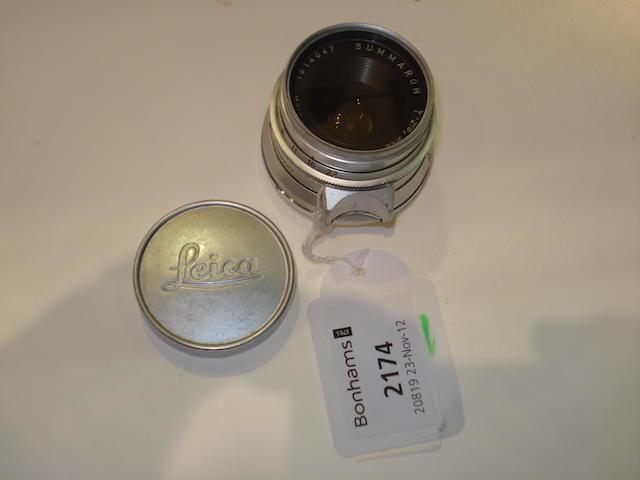 Leica 35mm f2.8 Summaron lens,