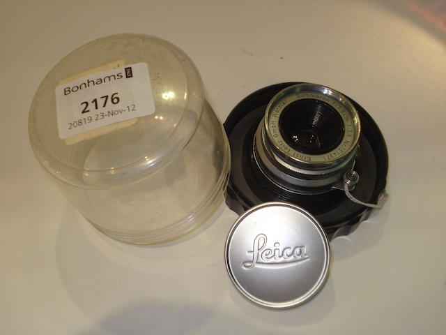 Leica 35mm f 3.5 Summaron lens,