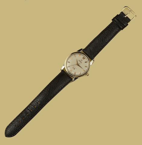 Omega. A stainless steel automatic centre seconds wristwatchSeamaster, Ref:2849-2, Movement No.15525166, Circa 1956