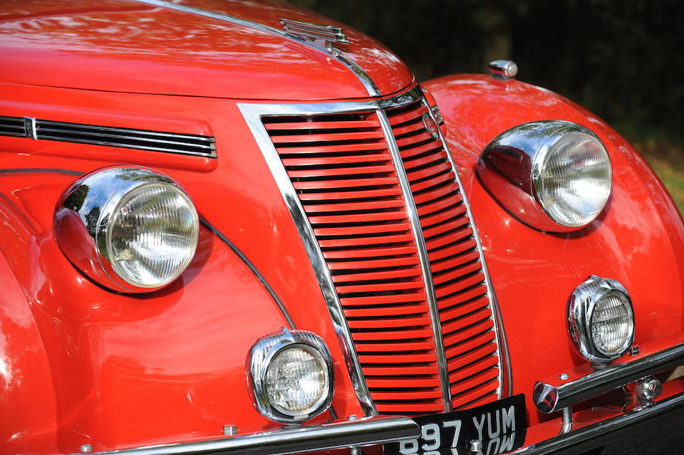 Offered with an entry to the 2013 Mille Miglia,1937 FIAT 1500 Cabriolet  Chassis no. 16755 Engine no. 153624