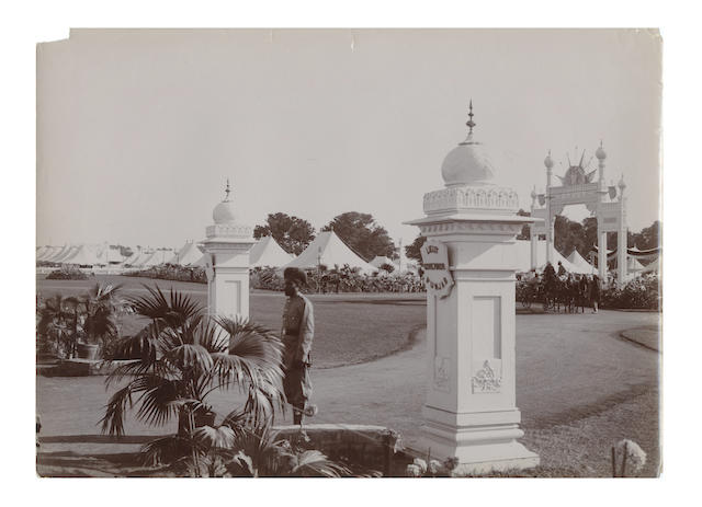 DELHI DURBAR and SIMLA A good collection of approximately 65 views, [c.1912]