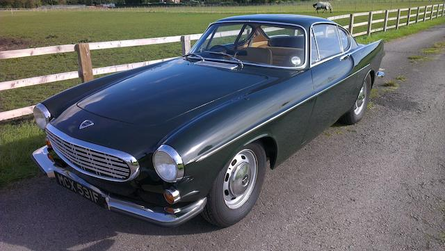 1967 Volvo P1800S Coupé, Chassis no. 1800S/259000 Engine no. B18D/3826