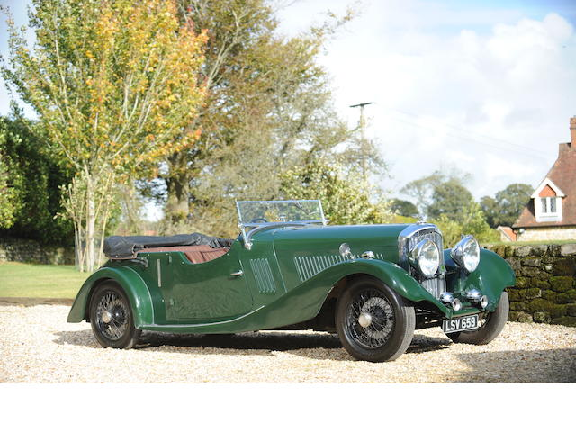 1934 Bentley 3 1/2 Litre Open Tourer