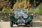 1934 Bentley 3 1/2 Litre Open Tourer