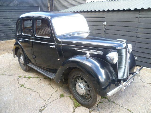 1946 Austin 8hp Saloon Project, Chassis no. AS1 58896 Engine no. 1A 83837
