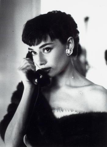 Bob Willoughby: Audrey Hepburn, Paramount Studios,