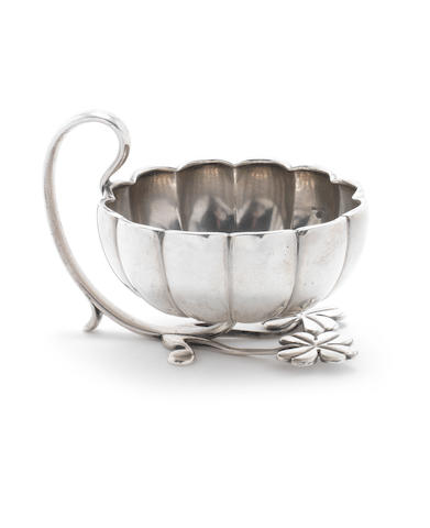 Fabergè: A Russian silver punch cup Moscow, circa 1880