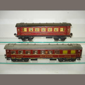 Marklin Mitropa Dining car and Sleeping car 2