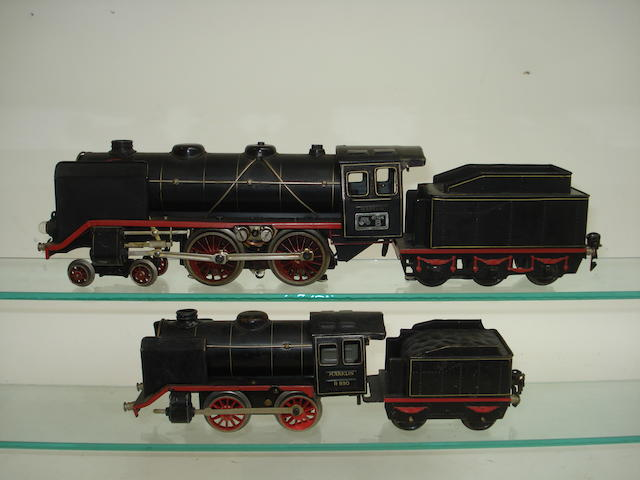 Marklin 20volt 920 4-4-0 DR locomotive and tender 3