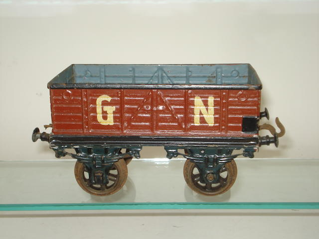 Gauge III GN open wagon, probably Carette
