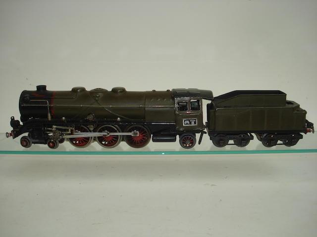 Marklin 20volt 4-6-2 DR locomotive and tender