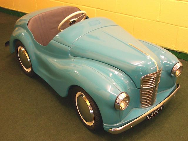 An Austin J40 Pedal Car  – the last one built,