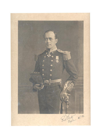 SCOTT (ROBERT FALCON) Captain Robert Falcon Scott, R.N. C.V.O. F.R.G.S., photogravure portrait, 1912