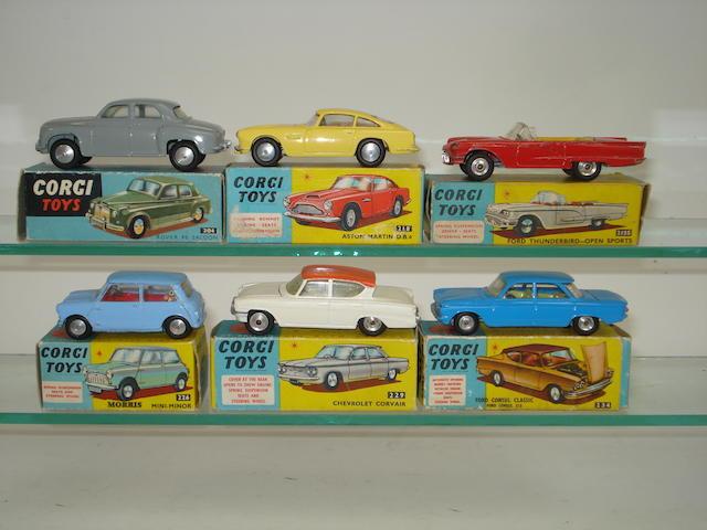 Corgi cars 6