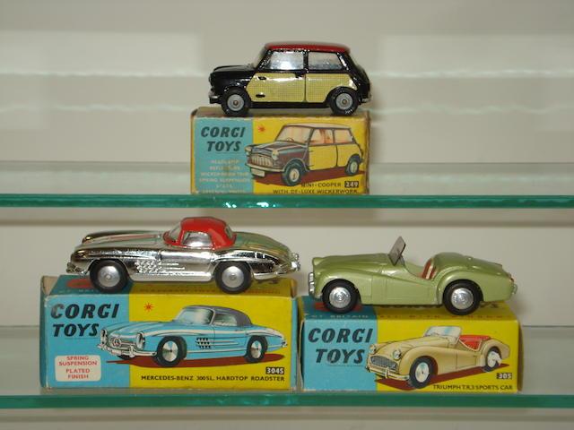 Corgi cars 3