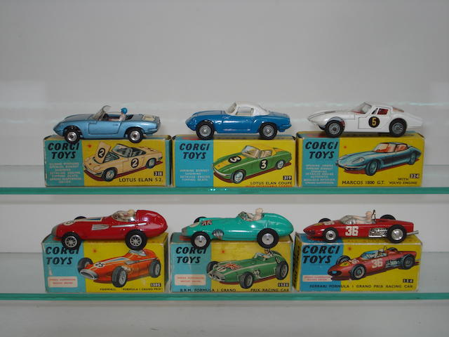 Corgi Racing cars 6