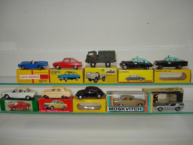 Various European manufacturers 12