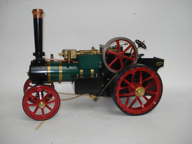 A Markie 1in scale live steam Agricultural Traction engine