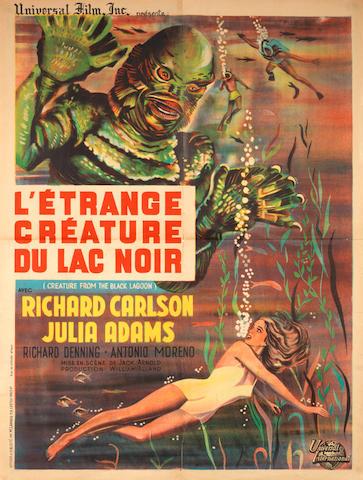Creature From The Black Lagoon (L'Etrange Creature Du Lac Noir), Universal, 1951,