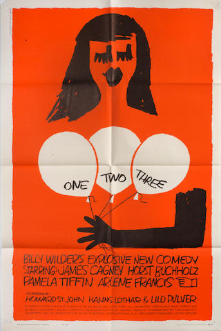 One Two Three, United Artists, 1962,