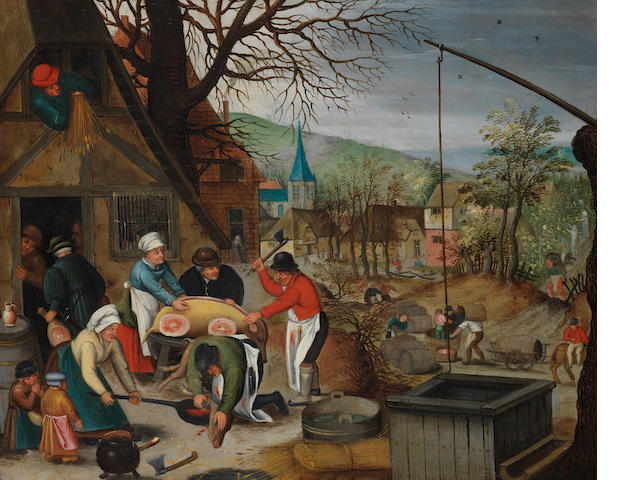 Pieter III Brueghel (Antwerp 1589-circa 1628) An Allegory of Autumn