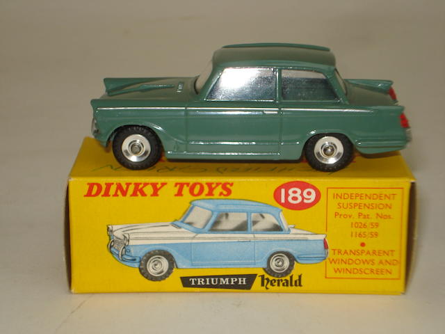 Dinky 189 Special Issue Triumph Herald Saloon