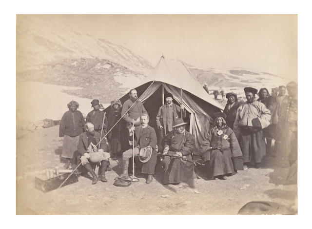 TIBET and SIKKKIM. MACAULAY (COLMAN) [Confidential]. Report of a Mission to Sikkim and the Tibetan Frontier, Calcutta, 1885