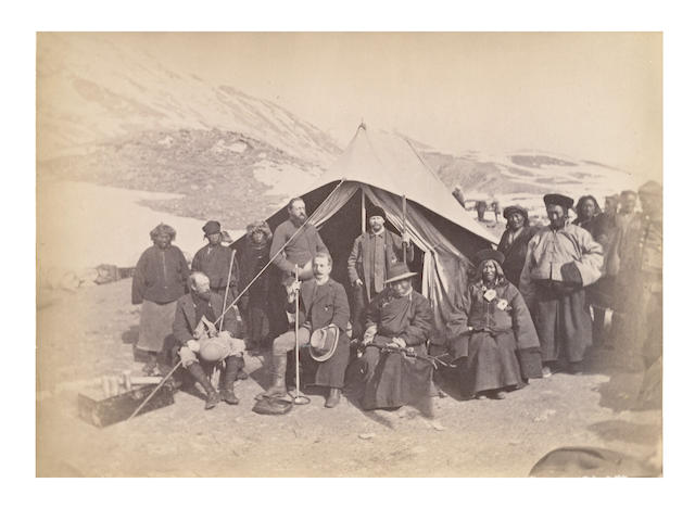 SIKKIM and TIBET MACAULAY (COLMAN) [Confidential]. Report of a Mission to Sikkim and the Tibetan Frontier, Calcutta, 1885
