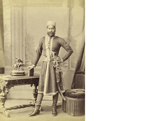 PRINCELY RULERS Maharaja Umaid Singh of Jodhpur, 1870s and later (9)