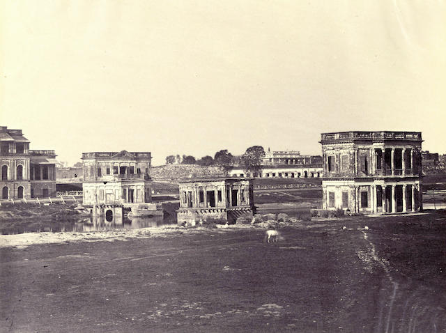KARACHI A group of approximately 35 images of mainly topographical interest, together with a small album, 1870s and later (small quantity)