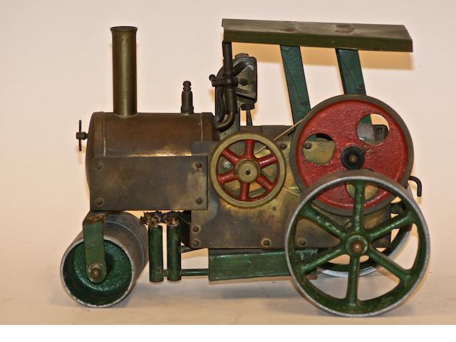 A Vintage model steam engine