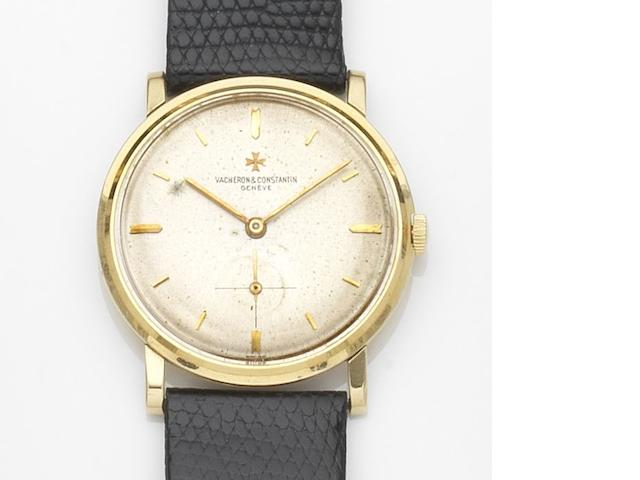 Vacheron & Constantin. An 18ct gold manual wind wristwatch Ref:6414, Case No.375375, Movement No.549633, Circa 1962