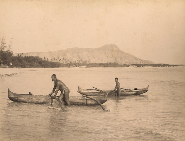 HAWAII A group of 25 views, [c.1885]