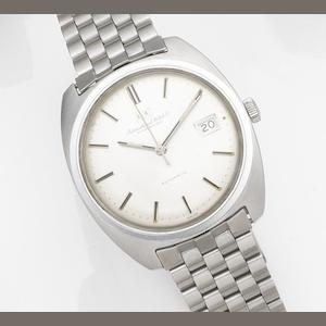 IWC. A stainless steel automatic calendar bracelet watch Circa 1970