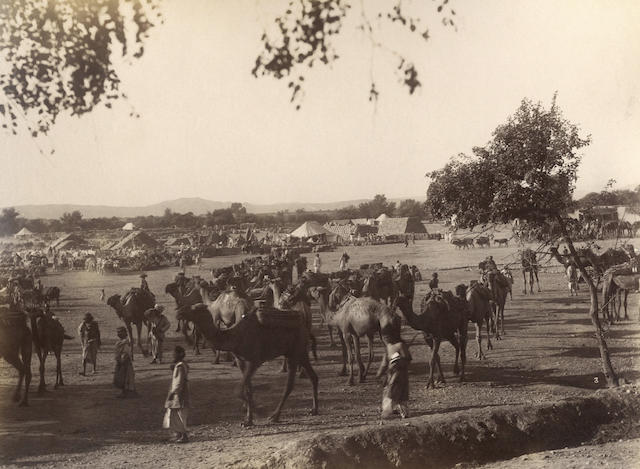 TIRAH CAMPAIGN A good campaign album, 35 photographs, 1897-1899