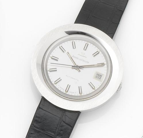 Jaeger-LeCoultre. A stainless steel automatic calendar wristwatchRef:562-42, Case No.1322527, Movement No.1979819, Circa 1969