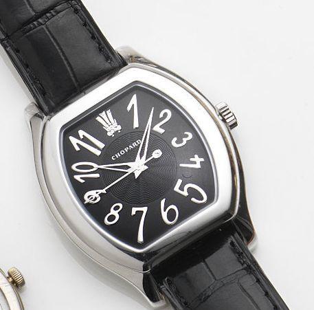 Chopard. An 18ct white gold quartz centre seconds wristwatch The Prince's Foundation, Ref:12/7433, Case No.967034, Circa 2000