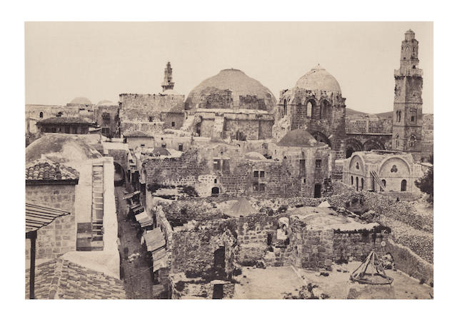 SINAI and PALESTINE FRITH (FRANCIS) Sinai and Palestine, [c.1863]
