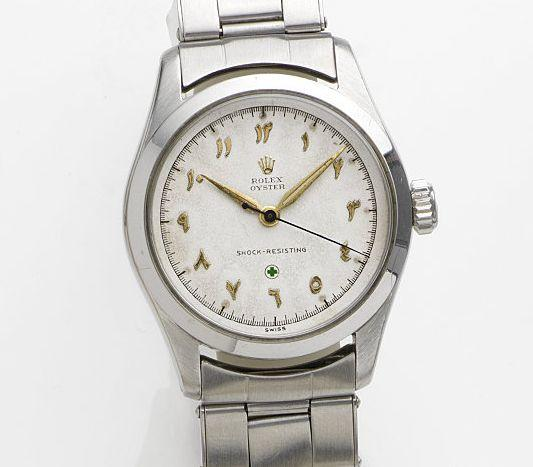 Rolex. A stainless steel manual wind centre seconds bracelet watchOyster, Ref:6244, Case No.923919, Movement No.33893, Circa 1963