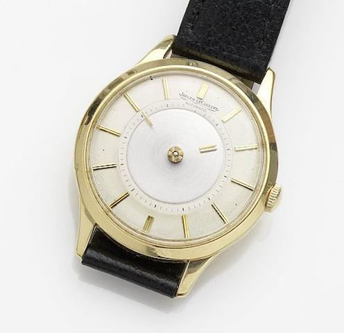 Jaeger-LeCoultre. An 18ct gold automatic mystery wristwatch Case No.A769510, Circa 1960