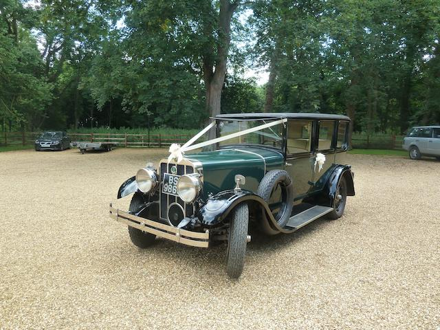 1928 Franklin Airman Limousine, Chassis no. X181466L11 Engine no. E129249