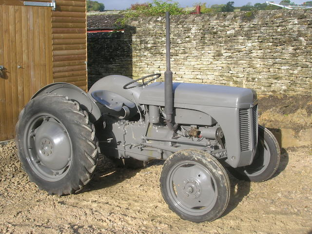 c.1951 Ferguson TE20 Tractor, Engine no. S163813F