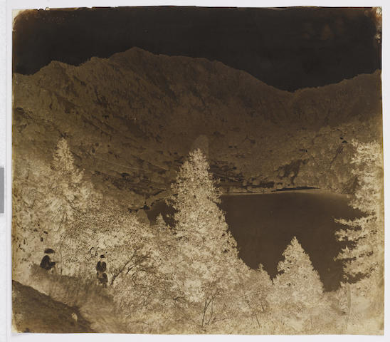 NAINITAL MURRAY (JOHN) A group of 10 negative of topographical views in Nainital, [c.1858] (10)