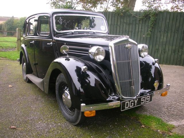 1939 Wolseley Ten Saloon  Chassis no. 3102359 Engine no. 2399