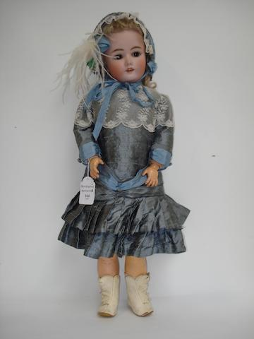 Heinrich Handwerck - Halbig bisque head girl doll