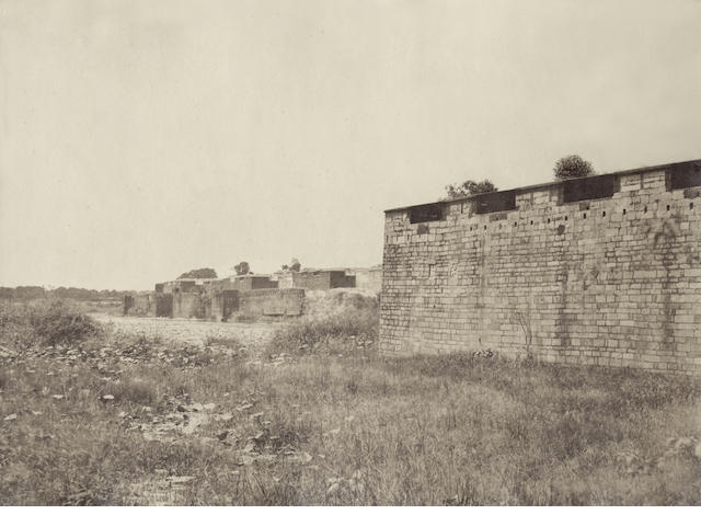 TANJORE TRIPE (LINNAEUS) Ruined buildings, most likely near Tanjore, [c.1858]