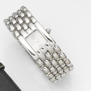 Chaumet. A lady's stainless steel quartz bracelet watch Khesis, Case No.22K9394, Circa 2008